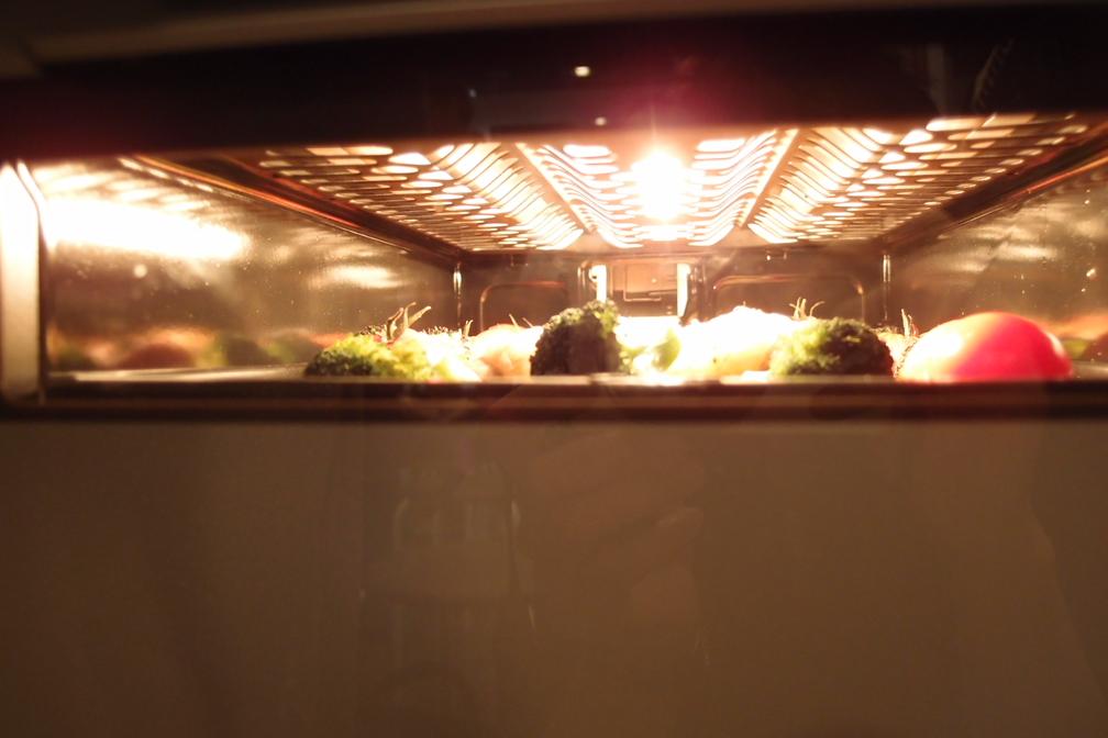 中が見えるグリルで鶏を焼く_a0116902_16511814.jpg