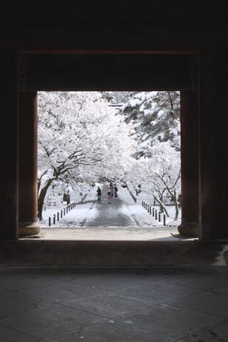 南禅寺 雪景色_e0048413_21533383.jpg