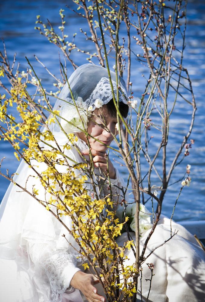 写真家マーティン・リチャードソンさんが撮影してくださった2月12日・松岡芽ぶきさんとの水上結婚式の写真_f0006713_0235749.jpg