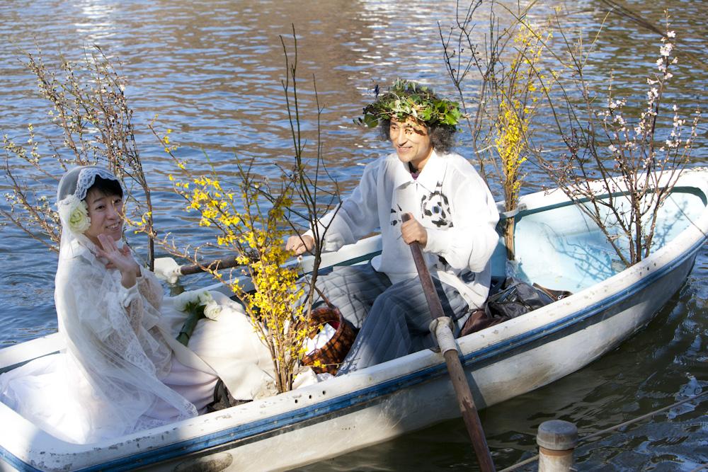 写真家マーティン・リチャードソンさんが撮影してくださった2月12日・松岡芽ぶきさんとの水上結婚式の写真_f0006713_0243384.jpg