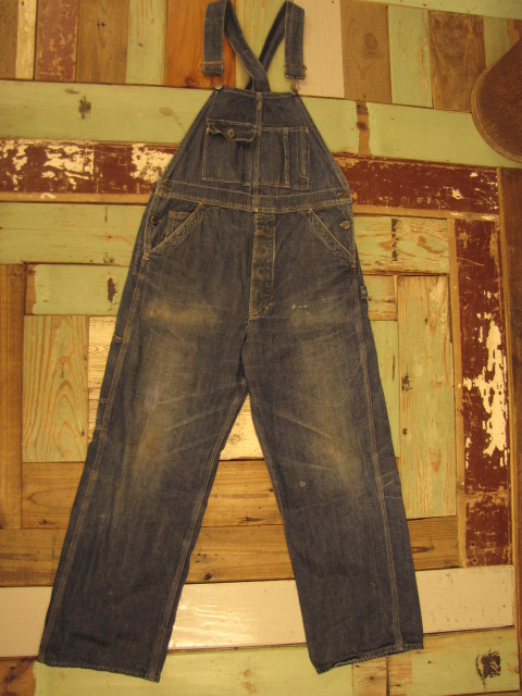 OLD PAY DAY DENIM OVERALLS_f0233425_22232061.jpg
