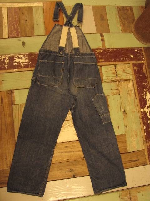 OLD PAY DAY DENIM OVERALLS_f0233425_22233555.jpg