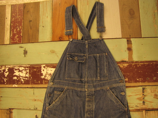 OLD PAY DAY DENIM OVERALLS_f0233425_22235381.jpg
