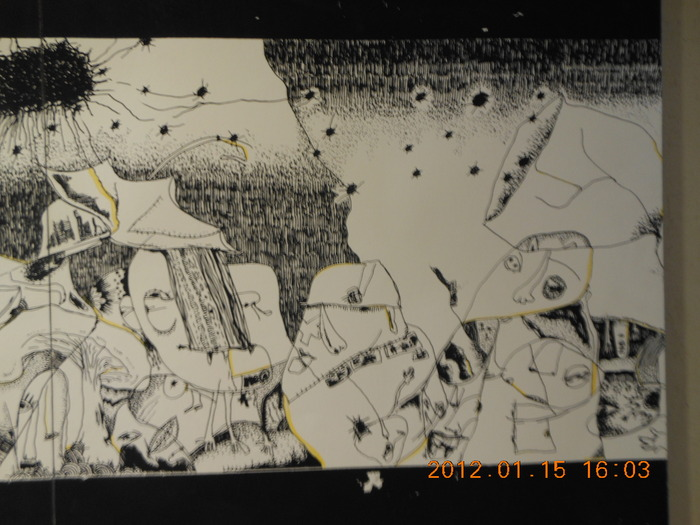 1628)「Becchi  Solo Ex.『Del Del 2nd』(阿部真大・展)」ト・オン・カフェ 終了・1月10日(火)~1月22日(日)_f0126829_2142677.jpg