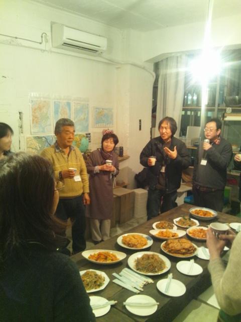 Warming Party ~日韓食文化交流~_d0058440_19492773.jpg
