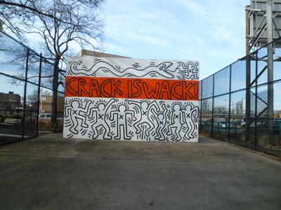 キース・へリングの命日によせて in Harlem (ニューヨークハーレム)_f0009746_15591376.jpg
