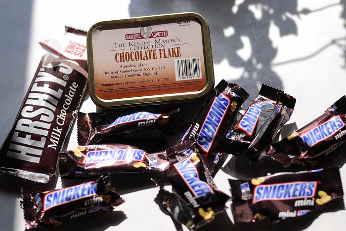 サミュエル・ガーウィズ: チョコレートフレーク ( Samuel Gawith: Chocolate Flake )_a0150949_2033412.jpg