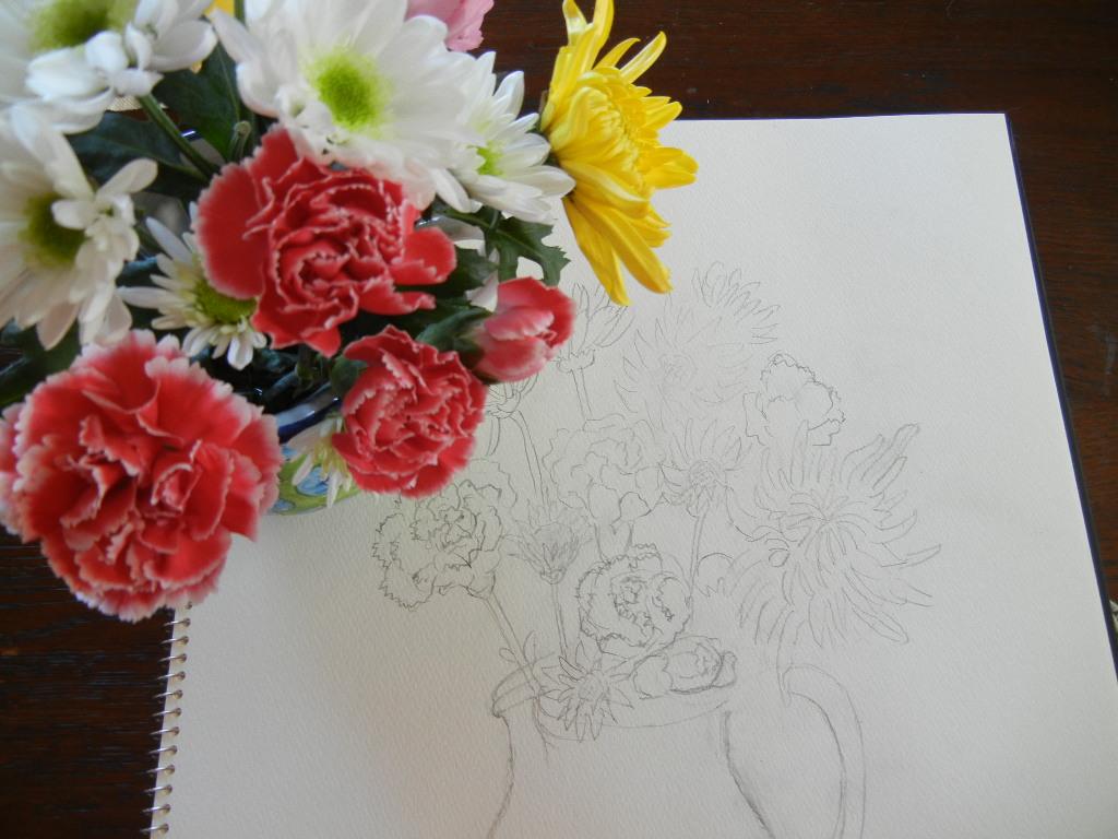 2012年2月20日(月)冬のサーフィンと花の絵!_f0060461_12472038.jpg