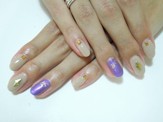 Beige × Purple_a0239065_19545813.jpg