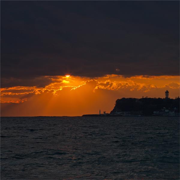 七里ヶ浜の夕景・2月20日篇。_b0022268_20575835.jpg