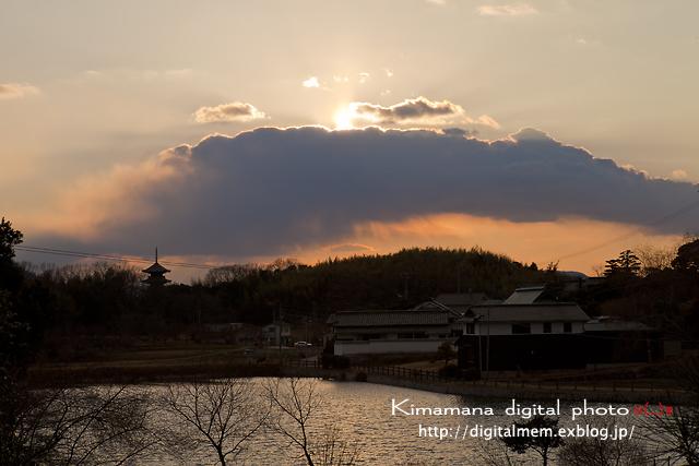 吉備の夕景 2/19_c0083985_19131296.jpg