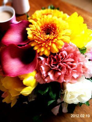 春のブーケ_a0134394_12514841.jpg