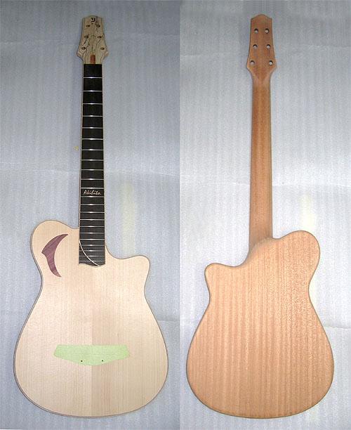 クワイエット・ギター(Quiet Guitar)製作中! その3_c0137404_21561633.jpg