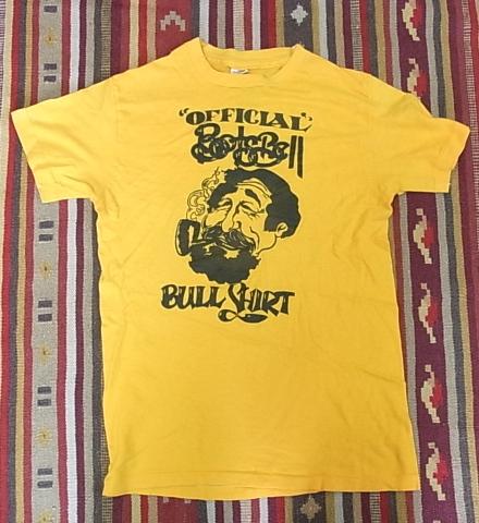 70'S HANES BULL SHIRTS プリントTシャツ!_c0144020_1723446.jpg