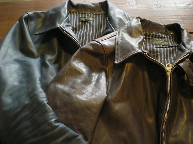 ROWDY Leather sports Jacket_d0160378_16125539.jpg