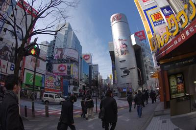 2月21日(火)今日の渋谷109前交差点_b0056983_1154269.jpg
