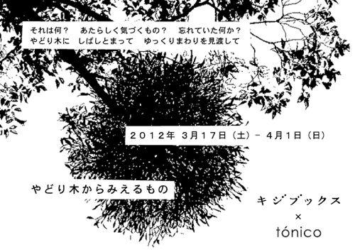 [キジブックス×tonico] 『やどり木からみえるもの』_d0028589_11562129.jpg
