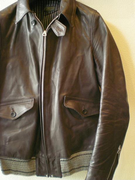 ROWDY Leather sports Jacket 2_d0160378_16521676.jpg