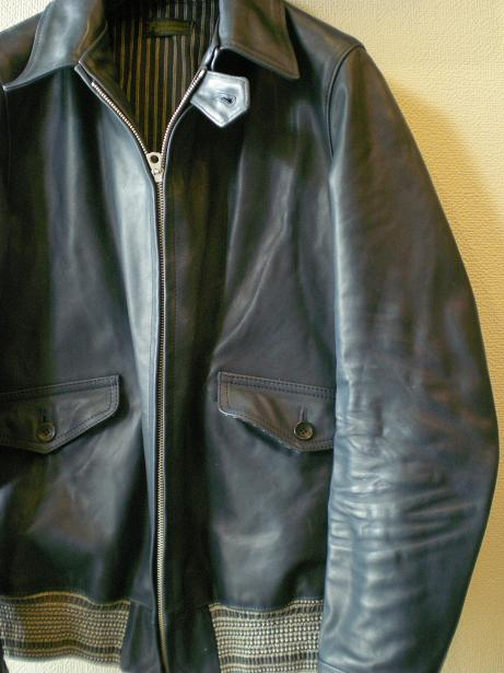 ROWDY Leather sports Jacket 2_d0160378_16525095.jpg