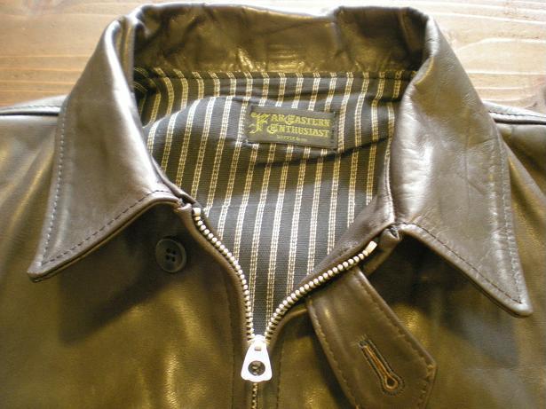 ROWDY Leather sports Jacket 2_d0160378_16535334.jpg