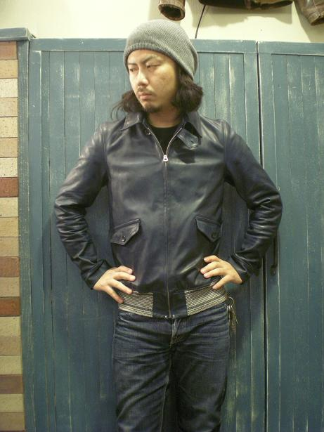 ROWDY Leather sports Jacket 2_d0160378_16581841.jpg