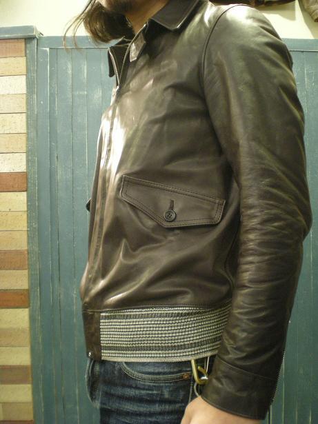 ROWDY Leather sports Jacket 2_d0160378_16583784.jpg