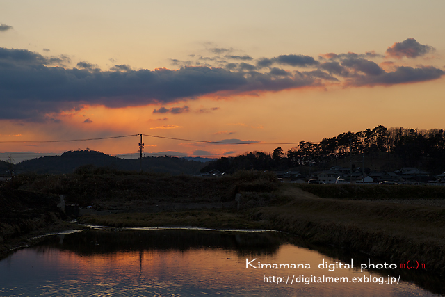 吉備の夕景 2/19 scene3_c0083985_19445490.jpg