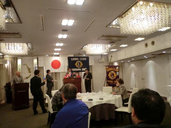 全日本司厨士協会、神奈川県本部総会で歌います_e0119092_1185818.jpg