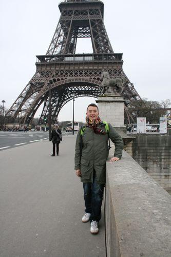 旅日記 モロッコ・パリ JAN2011 その14 パリを歩く!一日目_f0059796_238739.jpg