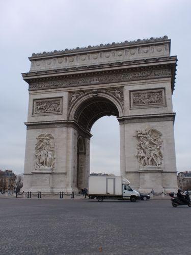 旅日記 モロッコ・パリ JAN2011 その14 パリを歩く!一日目_f0059796_2392959.jpg