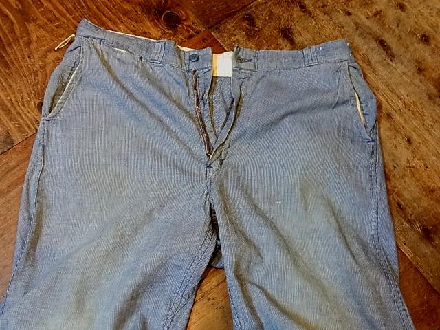 50'S BIGMAC ピンチェック WORK PANTS!_c0144020_17321739.jpg