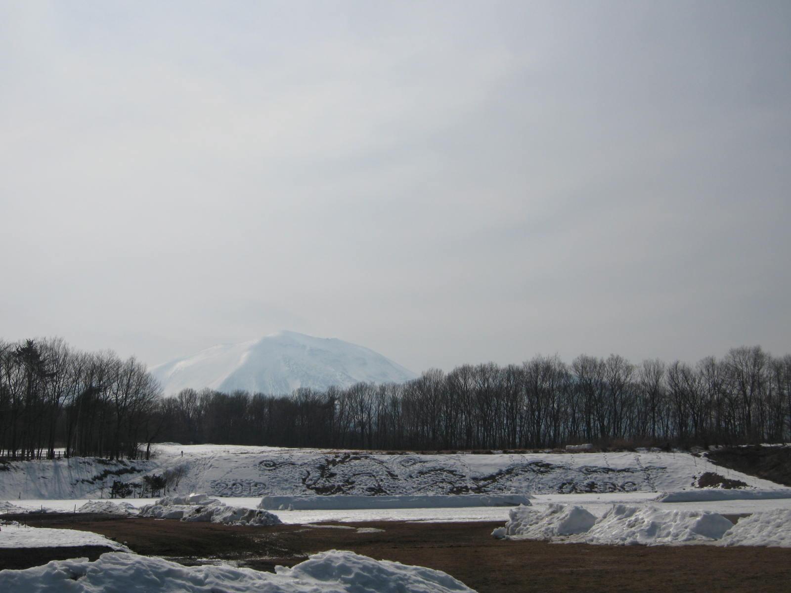 浅間山の雪景色_f0146620_14315453.jpg