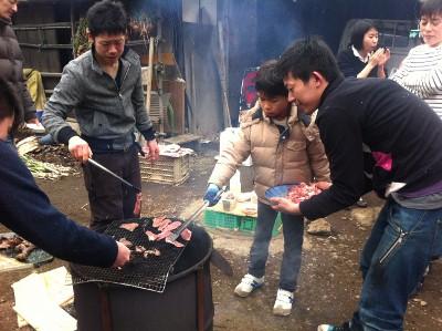 餅つき大会&BBQ なのでした☆_e0210422_051889.jpg