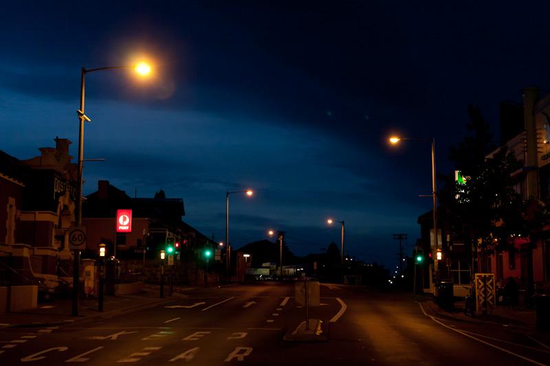 ノースホバートの夜 _f0137354_20505214.jpg