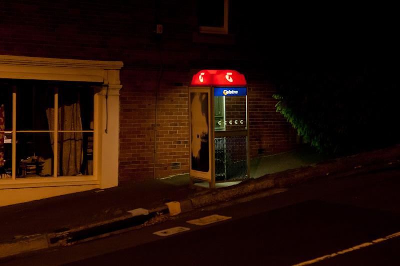 ノースホバートの夜 _f0137354_20525058.jpg