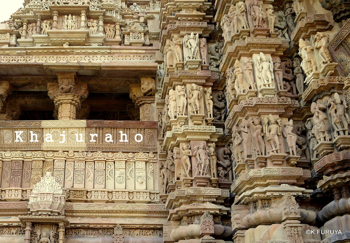 インド旅行記 12  カジュラホ西の寺院群_a0092659_21352374.jpg