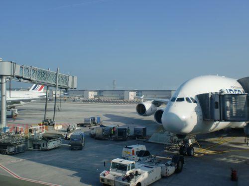 旅日記 モロッコ・パリ JAN2011 その18 AF276 東京行き A380_f0059796_029932.jpg