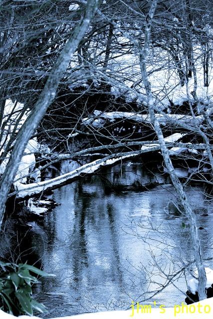 冬の山・湖・川・営み_a0158797_1044211.jpg