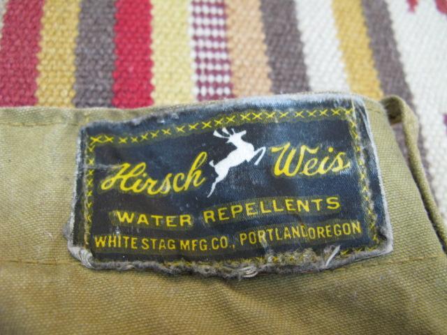 アメリカ仕入れ情報#57 30'S Hirsch Weis (white stag)ロガーパンツ!_c0144020_15245049.jpg