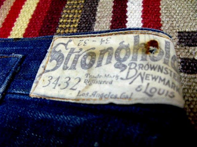アメリカ仕入れ情報#60 1890年~ストロングホールド バックルバック パンツ!_c0144020_15403919.jpg