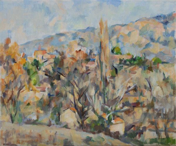 丘の風景(完成)_c0236929_1948505.jpg
