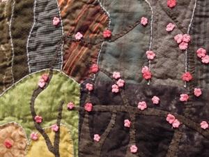 「日々、手仕事-キルト-」 Quilt Early Blue 作品展_b0113743_1555629.jpg
