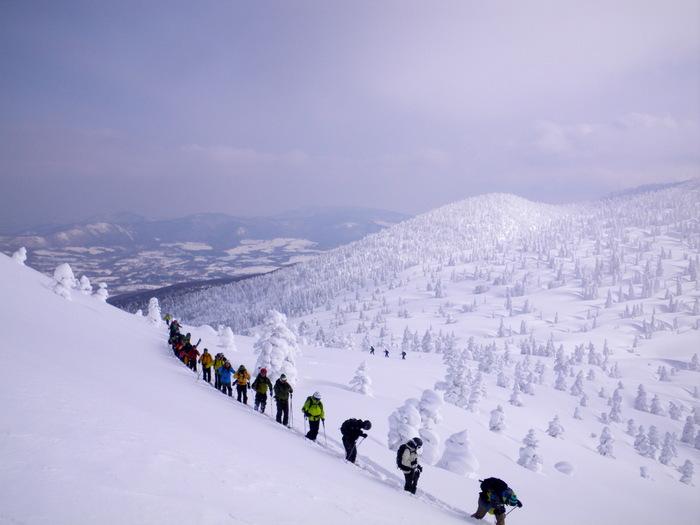 八甲田極楽スキー&温泉ツアー(その4) ~ 2012年2月14日_f0170180_31314100.jpg