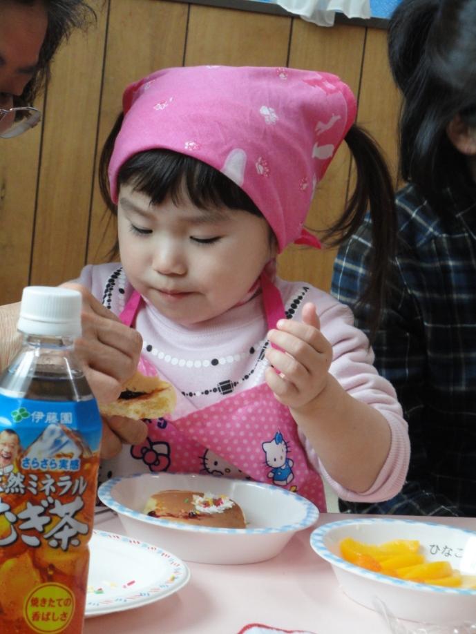 食育講座『ホットケーキ食べよっ♪』:2月24日金曜日_b0079382_14135296.jpg