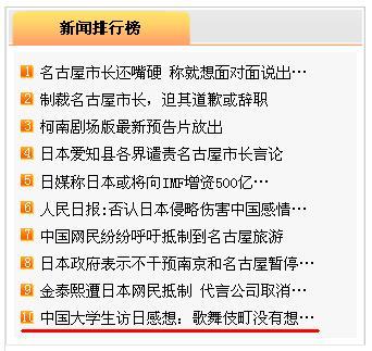 胡万程同学訪日感想文 人民網日本版アクセス10位にランキングされた_d0027795_103042.jpg