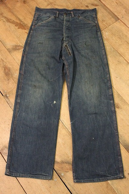 40\'s DENIM WORK PANTS_d0121303_1846640.jpg