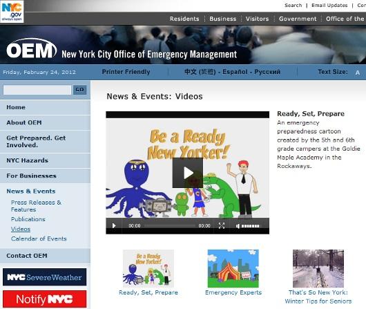 こんな子ども向けアニメまで用意しちゃうニューヨーク市の危機管理_b0007805_1483276.jpg