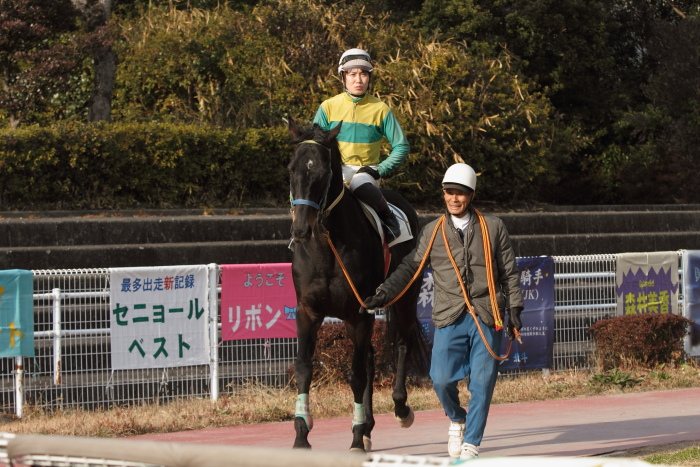 2012年2月18日(土) 高知競馬 2R C3-4_a0077663_13583513.jpg