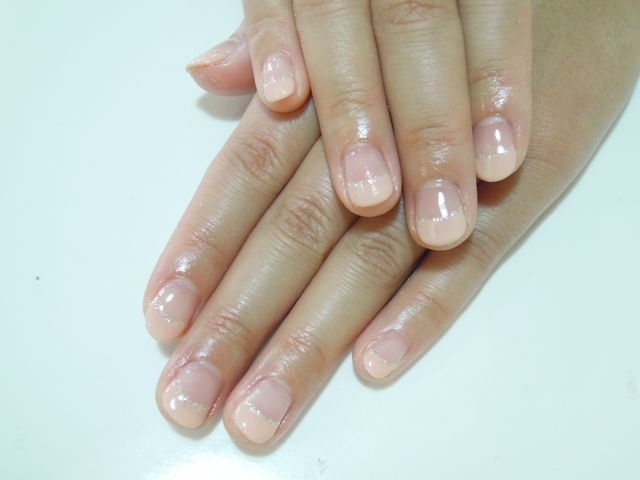 Beige French Nail_a0239065_1627494.jpg