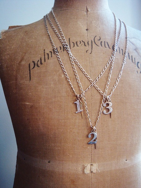 Bing Bang Jewelry Lucky Number Necklace再入荷_f0111683_1972916.jpg